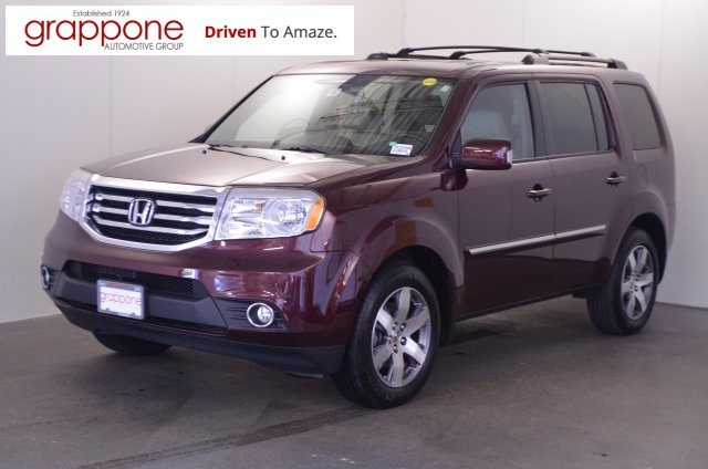 certified pre owned 2014 honda pilot touring 4d sport utility in bow di state tb1649a. Black Bedroom Furniture Sets. Home Design Ideas